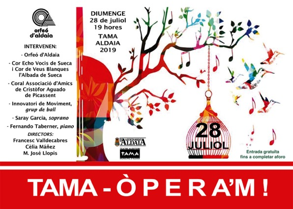 Cartel Opera 28 Juliol